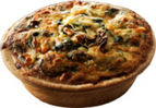 Boscastle - Spinace and Mushroom Quiche