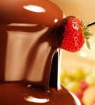 Callebaut - Fountain Chocolate is High in Cocoa Butter