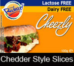 Cheezly Dairy Free - Cheddar Style Slices