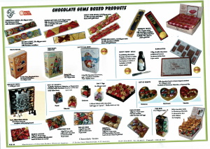 Chocolate Gems - Boxed Products