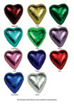 Chocolate Gems - Chocolate Hearts Colours