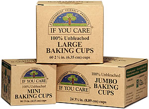 If You Care - 100% Unbleached Baking Cups