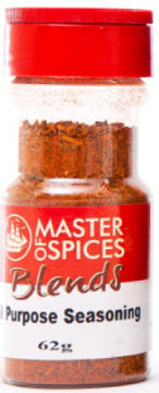 Master of Spices - Spice Blends All Purpose Seasoning 62g Jar