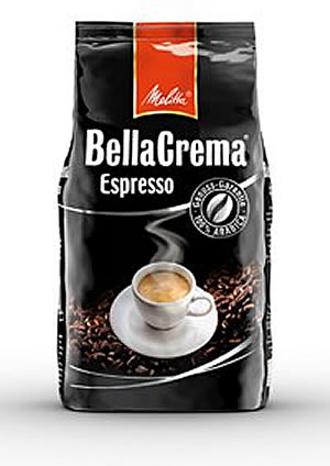 Melitta Coffee - Bella Crema Espresso 1kg Bag
