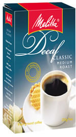 Melitta Coffee - Decaf Classic Medium Roast