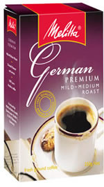 Melitta Coffee - German Premium Mild Medium Roast