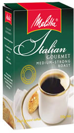 Melitta Coffee - Italian Gourmet Medium Strong Roast