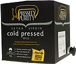 Pressed Purity - Extra Virgin Cold Pressed Oils 10 Litre Cask