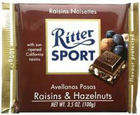 Ritter Sport - Raisins and Hazelnuts 100g